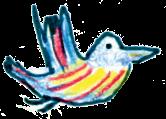 Vogel rechts
