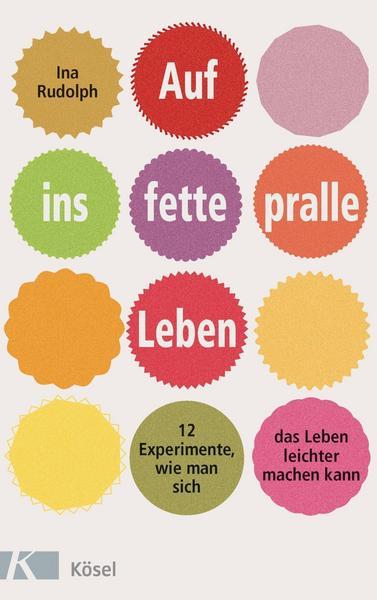 Buchcover - Auf ins fette pralle Leben