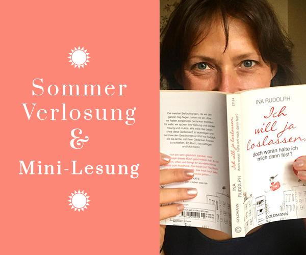 Sommer Verlosung & Mini-Lesung: Loslassen